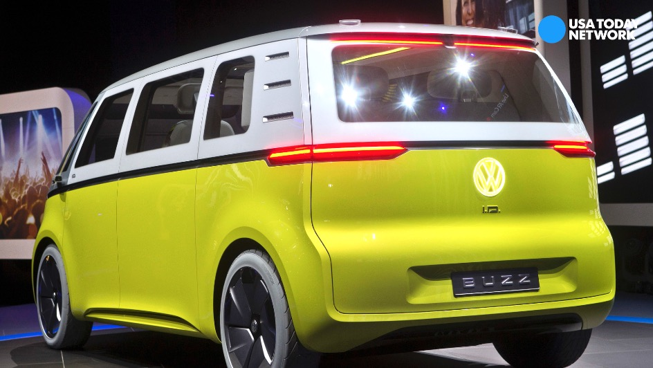 Volkswagen reveals I.D. Buzz concept microbus