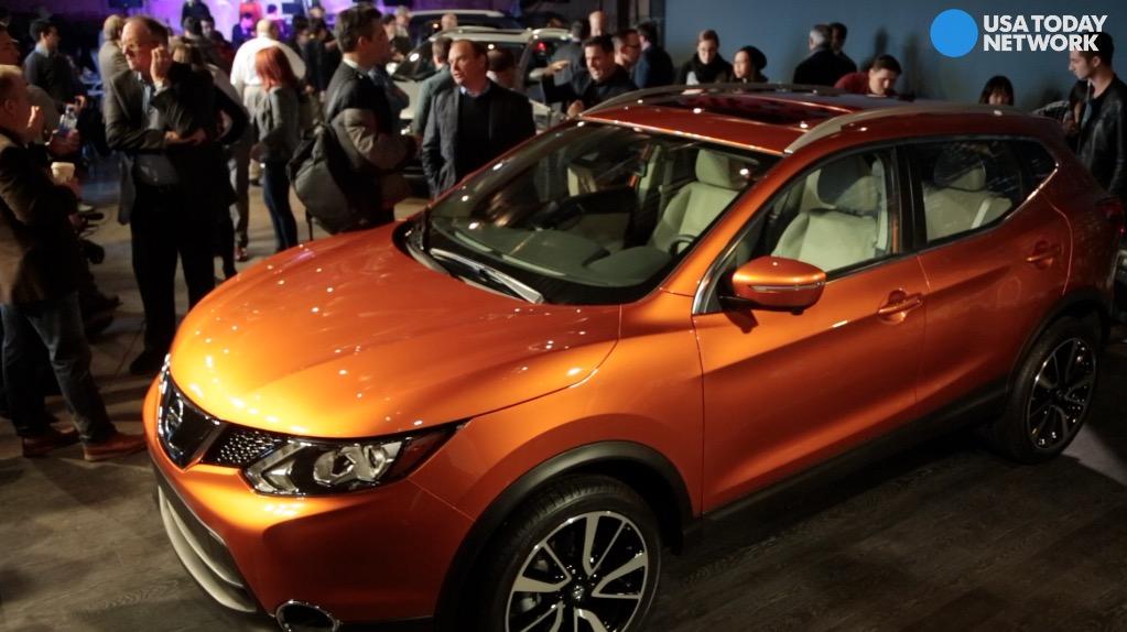 Nissan introduces 2017 Rogue Sport