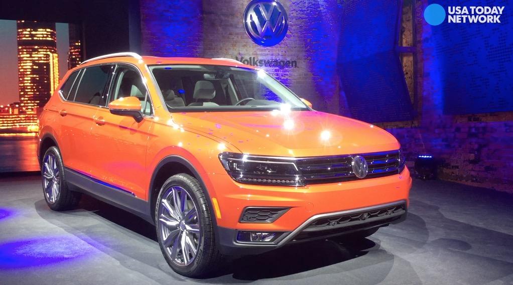 Volkswagen unveils 2017 Tiguan