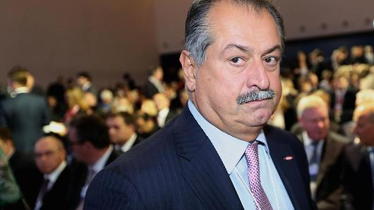 Andrew Liveris, chairman and chief executive officer of Dow Chemical Co.