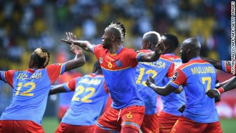 Junior Kabananga has scored in every Group C match.