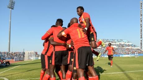 "Uganda's ""Cranes"" fly into history"