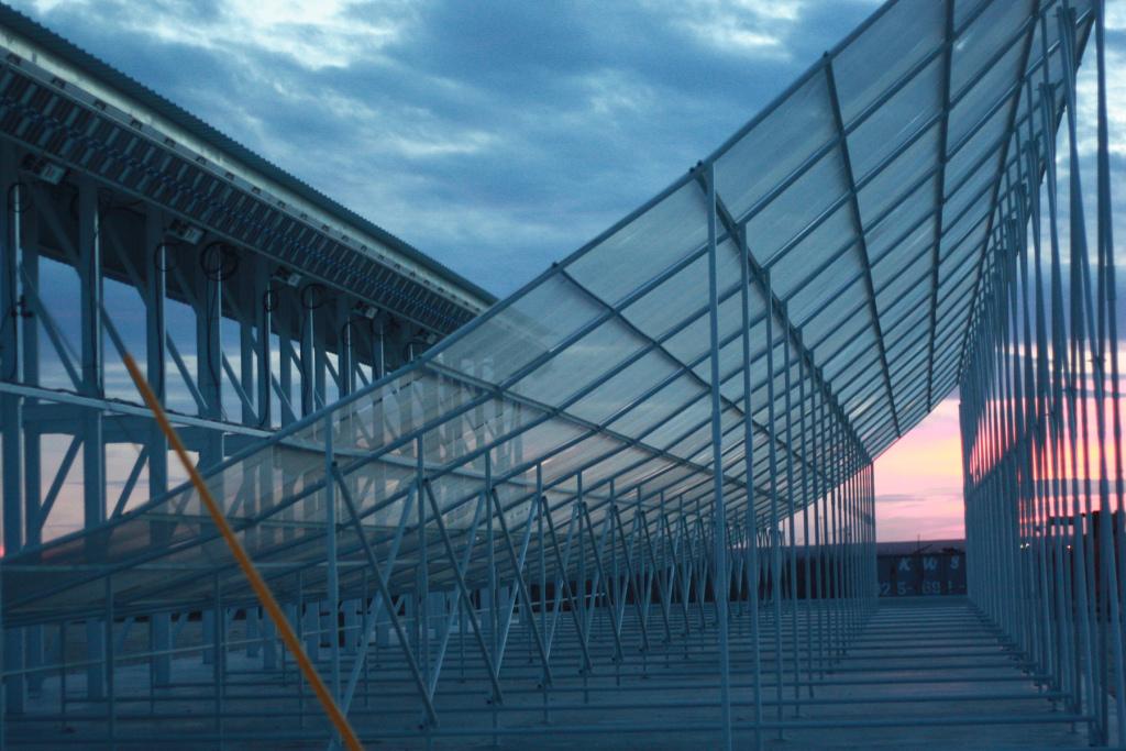 LeoLabs' new Midland ground radar monitoring facility.