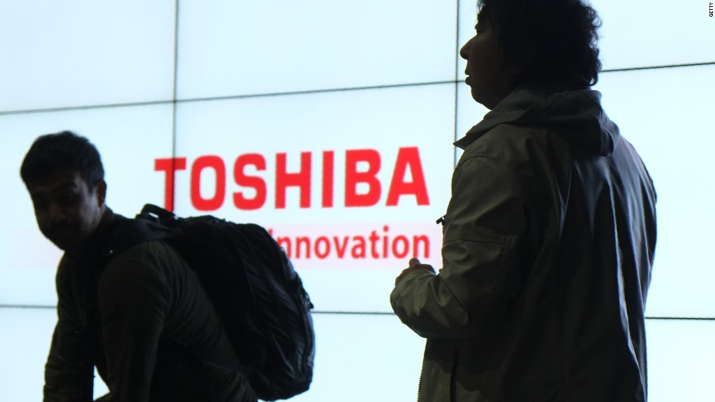 Toshiba stock hit by nuclear fallout