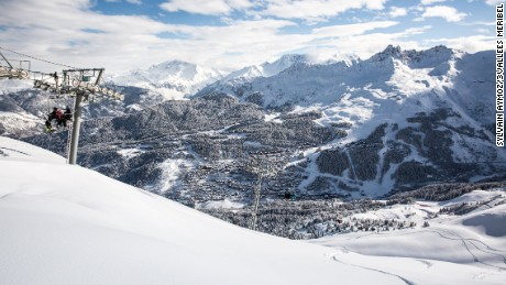 Meribel: Part of the world's biggest ski area.