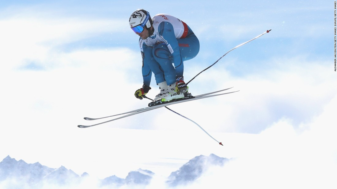 "Kjetil Jansrud of Norway flies high in St. Moritz. The Swiss resort is characterized by its<a href=""http://cnn.com/videos/sports/2017/02/09/st-moritz-fis-alpine-skiing-world-championships-glitz-glamour-orig.cnn""> <a href=""http://edition.cnn.com/videos/sports/2017/02/09/st-moritz-fis-alpine-skiing-world-championships-glitz-glamour-orig.cnn""></a>wealthy clientele</a> and <a href=""http://edition.cnn.com/2017/02/09/sport/skiing-steepest-start-gate-st-moritz-90-miles-per-hour/"">treacherous start gate. </a>"