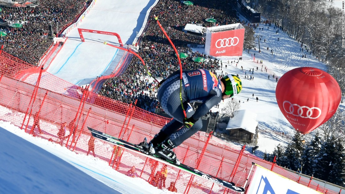 """Off the slopes, Kitzbuehel has a reputation for its large crowds and<a href=""""http://cnn.com/videos/sports/2017/01/24/kitzbuhel-skiing-biggest-party-world-cup-alpine-edge-orig.cnn""""> party atmosphere</a>."""
