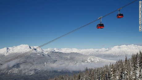 Whistler: Big snow, big ski area.