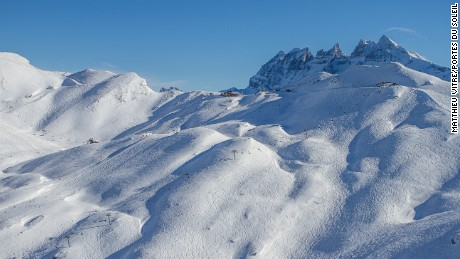 Portes du Soleil: A vast area straddling Switzerland and France.