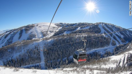 Park City Mountain: Part of the United States' largest ski area.