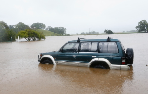 Cyclone Debbie floods