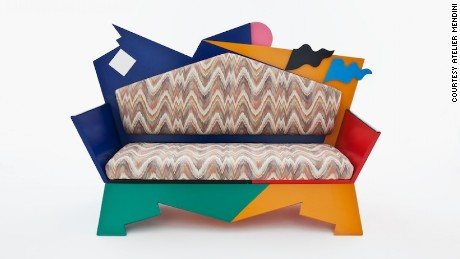 'Kandissi Sofa', designed by postmodernist Alessandro Mendini in 1973
