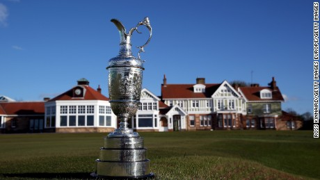 Muirfield last held the British Open in 2013