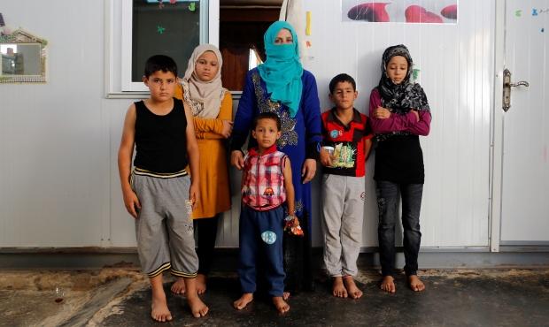 MIDEAST-CRISIS/SYRIA-JORDAN-CAMP