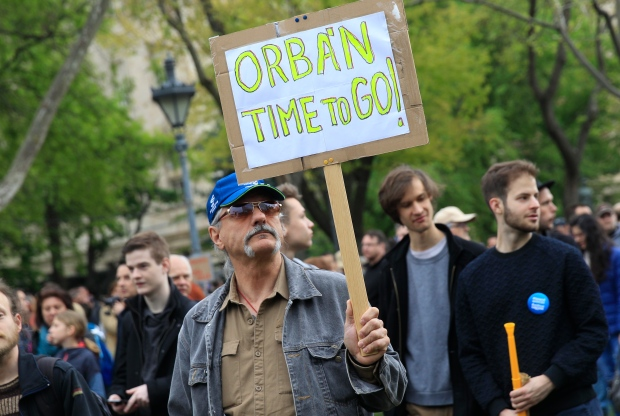 SLUG HUNGARY-ORBAN/PROTESTS