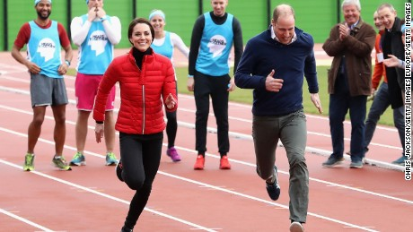 The Duke and Duchess of Cambridge and Prince Harry joined Heads Together for a London Marathon Training Day in February.