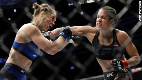 UFC's once-great hope Rousey suffers lightning-fast defeat