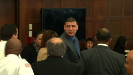 Hernandez grows emotional after his acquittal Friday in a double murder case.