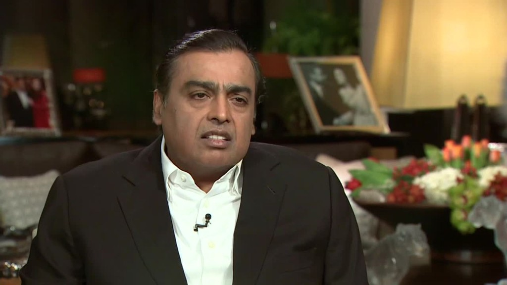 India's richest man on India's digital age