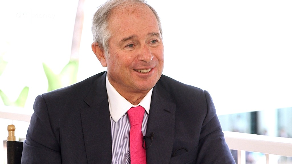 Blackstone CEO: Infrastructure most important for Trump