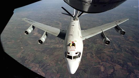 "The WC-135W ""Constant Phoenix"" aircraft collects particulate and gaseous debris from the accessible regions of the atmosphere in support of the Limited Nuclear Test Ban Treaty of 1963."