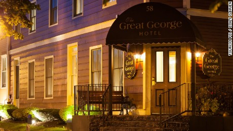 Charlottetown's Great George hotel