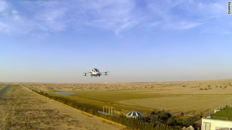 Driverless flying taxi service set to launch in Dubai