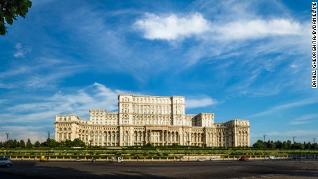 The Palace of the Parliament houses Romania's govenment.