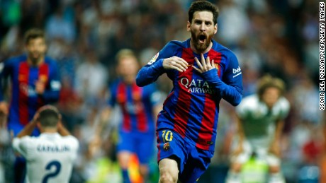 Academy graduate Messi is Barcelona's all-time leading goalscorer, netting over 500 times for the club