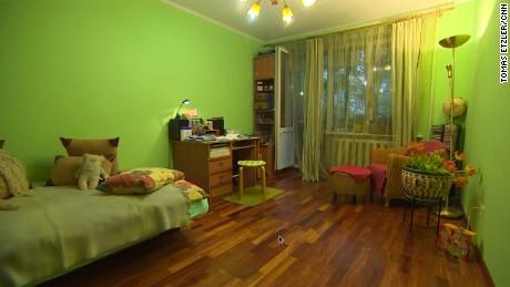 """Inside Novitskaya's """"Khrushchevki"""" apartment."""