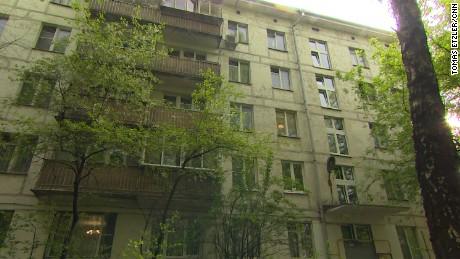 Novitskaya's five-storey apartment block.
