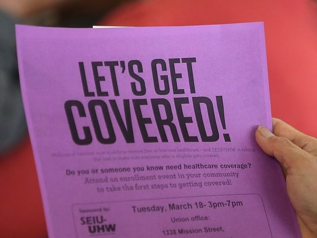 Obamacare enrollment (Justin Sullivan / Getty)