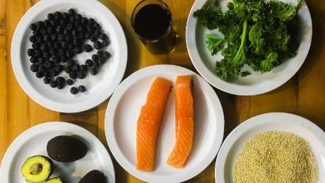 Eight foods