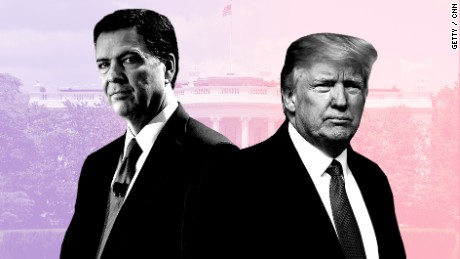 Trump says he considered 'this Russia thing' before firing FBI Director Comey