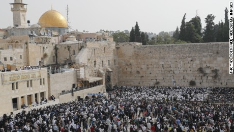Israel 'shocked' over Trump aide's Western Wall comments