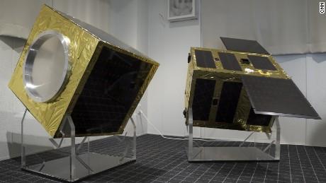 Astroscale's demonstration satellite.