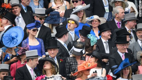 Racegoers in the more upmarket stands must adhere to a strict dress code.