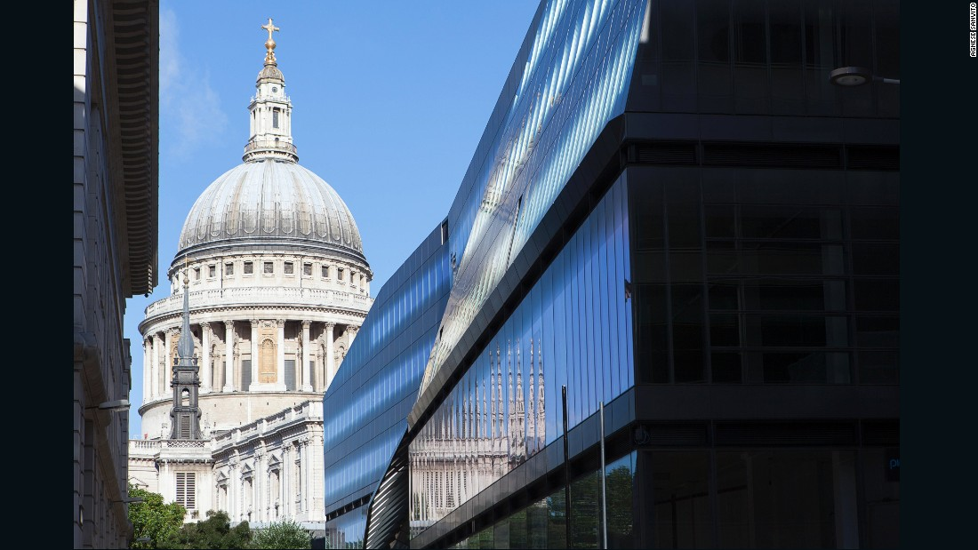 "The 554,340-square-foot building, designed by <a href=""http://www.jeannouvel.com/en/desktop/home/"" target=""_blank"">Ateliers Jean Nouvel</a>, provides a telescopic view of historic St Paul's Cathedral and is adorned with 6,500 triple-glazed glass panels."