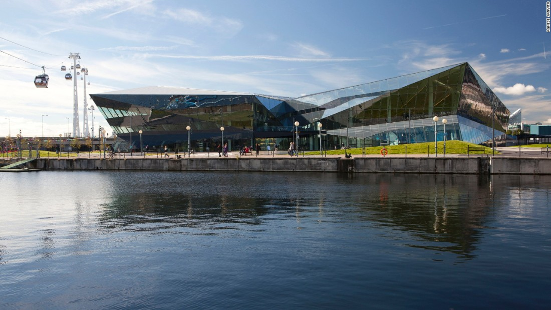 "Located on the edge of East London's Royal Docks, <a href=""https://www.thecrystal.org/"" target=""_blank"">the Crystal</a> is an information center for sustainable design and renewable energy. Built with over 2,500 interconnected sustainable technologies, it is the first building to achieve both <a href=""http://www.usgbc.org/leed"" target=""_blank"">LEED</a> Platinum and <a href=""http://www.breeam.com/"" target=""_blank"">BREEAM</a> Outstanding certifications."