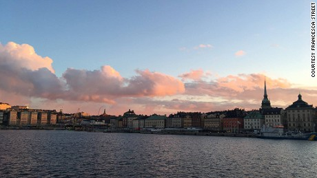 The sunset view of Stockholm from af Chapman can't be rivalled.