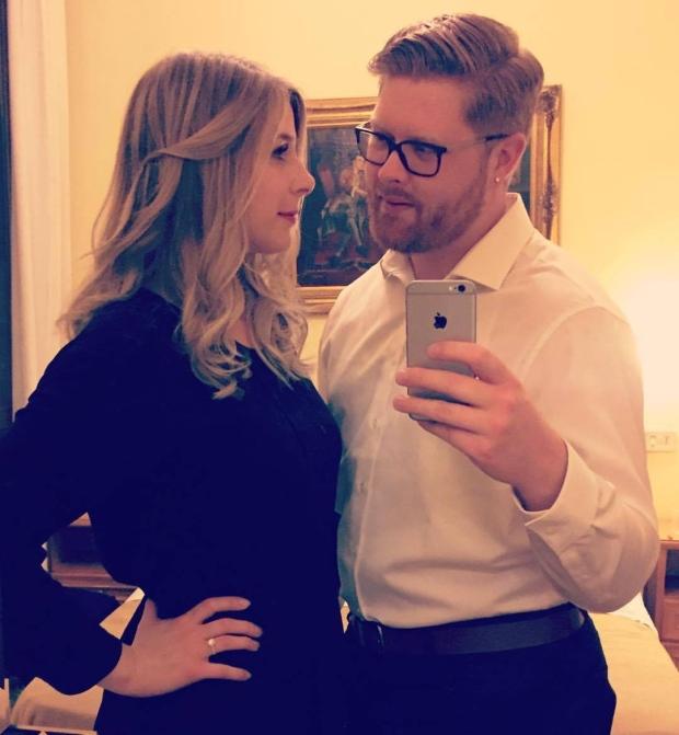Christine Archibald and Tyler Ferguson