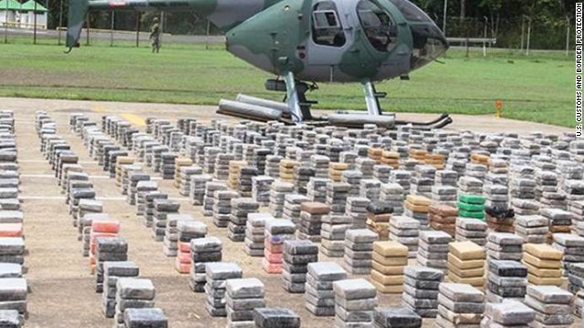 $527 million in cocaine intercepted en route to U.S.
