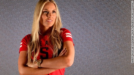 Vonn says the reaction from the male ski racing community has been largely positive to her idea.