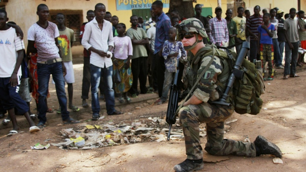 France in Central African Republic