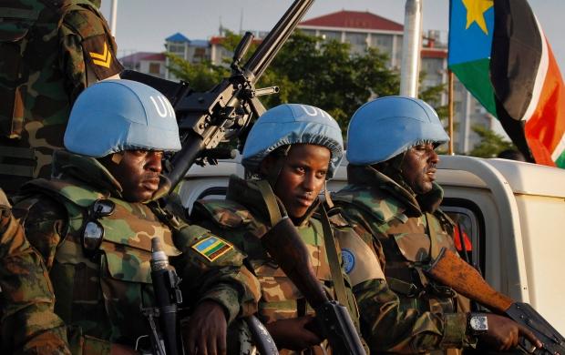 South Sudan UN Troops
