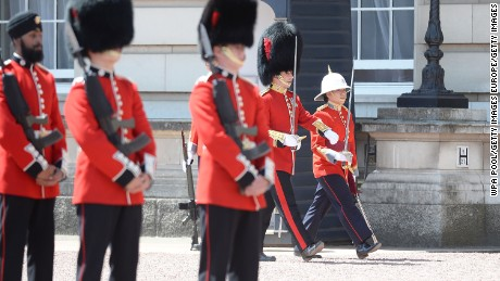 The Princess Patricia's Canadian Light Infantory is taking part in ceremonial duties as part of the Canadian 150th celebrations.