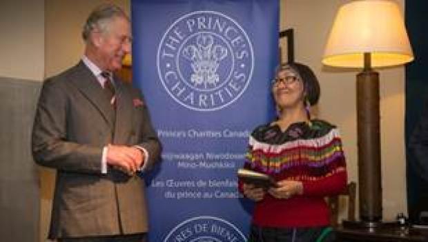 Monica Ittusardjuat and Prince Charles