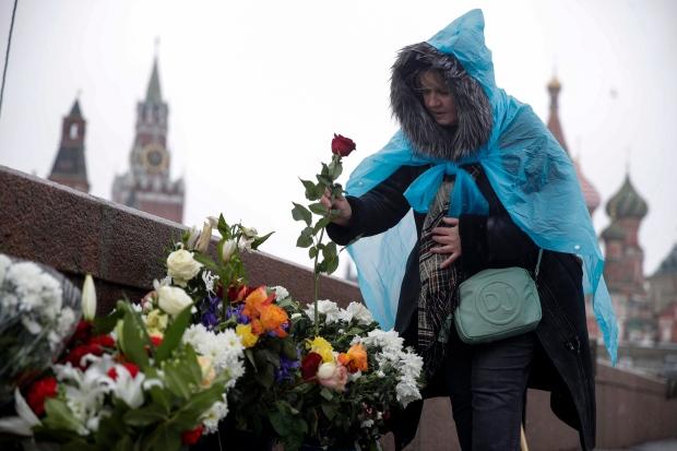 APTOPIX Russia Nemtsov