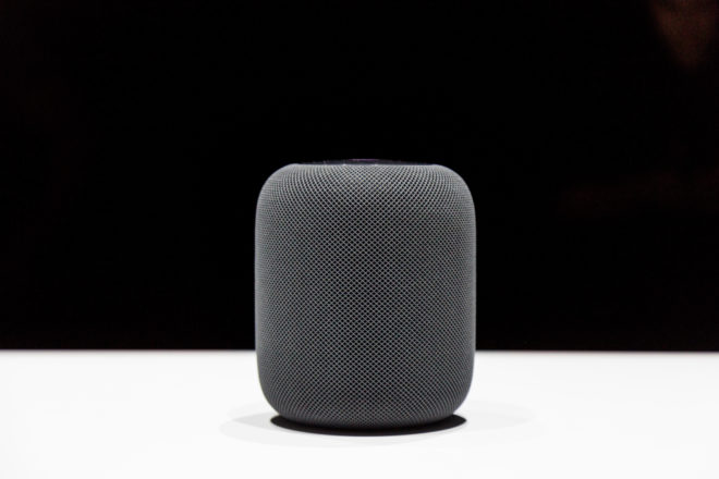 Apple's HomePod Puts Siri in a Speaker