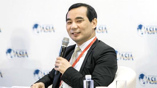 Wu Xiaohui, chairman and chief executive officer of Anbang Insurance Group.